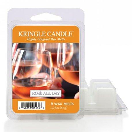 wosk od kringle candle, wino, szampan, prosseco, smacznie, słodko, truskawki, śmietanka, , kringle, świeca zapachowa, relaks, odpoczynek, prezent, upominek,