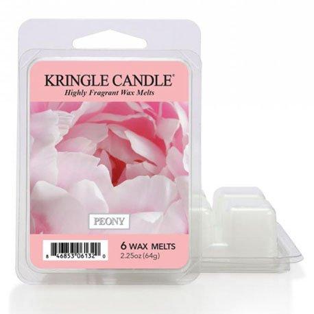 Wosk zapachowy od Kringle Candle, peonie, kwiaty, kobiecy zapach, bukiet,, kringle, świeca zapachowa, relaks, odpoczynek, prezent, upominek,