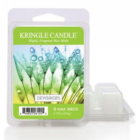 wosk od kringle candle, , kringle, świeca zapachowa, relaks, odpoczynek, prezent, upominek, świeże, rosa, woda,