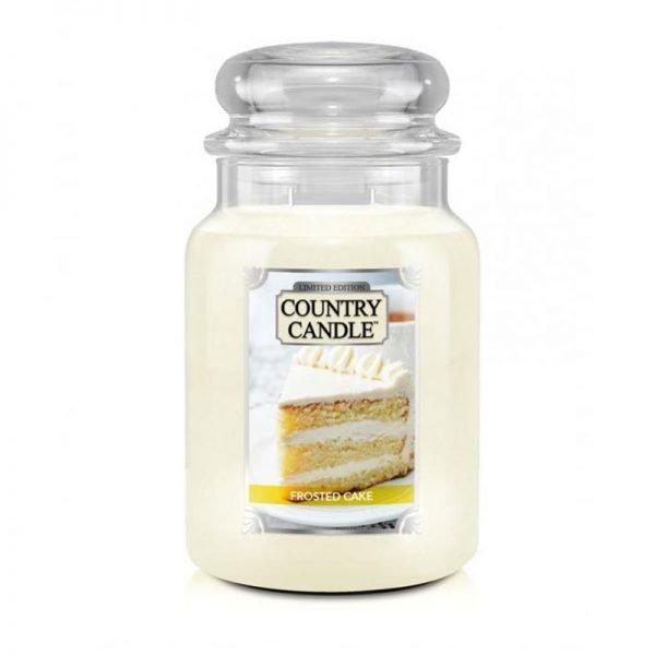 Duża świeca od COuntry Candle,duża świeca kringle candle, kringle, świeca zapachowa, relaks, odpoczynek, prezent, upominek, śmietanka, wanilia, biała, tort, ciasto, babeczki