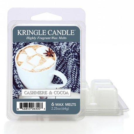 wosk od Kringle Candle, kakao, pianki, słodkie, kaszmir, relaks, , kringle, świeca zapachowa, relaks, odpoczynek, prezent, upominek,