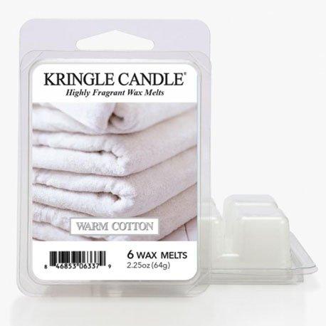 wosk od kringle candle, , kringle, świeca zapachowa, relaks, odpoczynek, prezent, upominek, świeże pranie, kaszmir, bawełna, ciepło