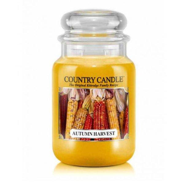 Świeca duża od Country Candle, prezent, świeca zapachowa, urokliwy zapach, wosk, wosk zapachowy, prezent, upominek, jesień, ciepło, relaks, odpoczynek,