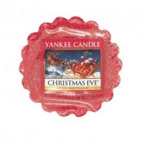 wosk od Yankee Candle, czerwona w szklanym słoiku o zapachy christmas eve. święta, świeca, świeca zapachowa, zapachy, wosk, wigilia, boże narodzenie, prezent na swieta, prezent, owoce, przyprawy, owoce karmelizowane, słodkie, klimat świąt , drobny prezent, upominek