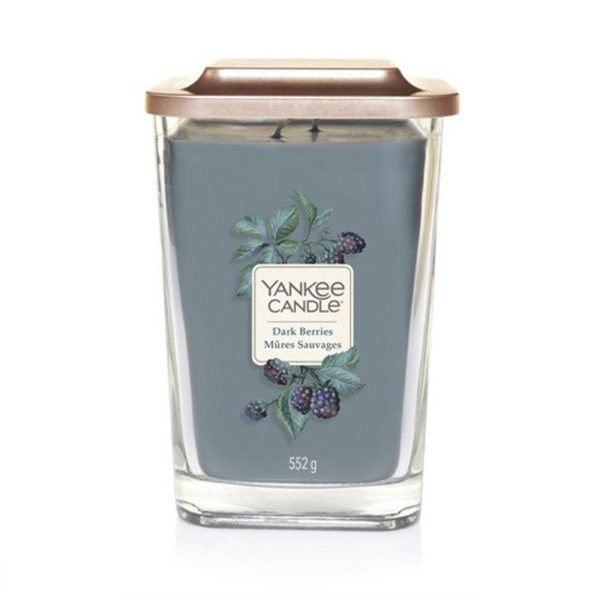 Duża świeca sojowa od Yankee Candle, jeżyny, owoce, maliny, kwiaty, las, leśne owoce, jesień, lato, wiosna, słodkie, lato, wiosna