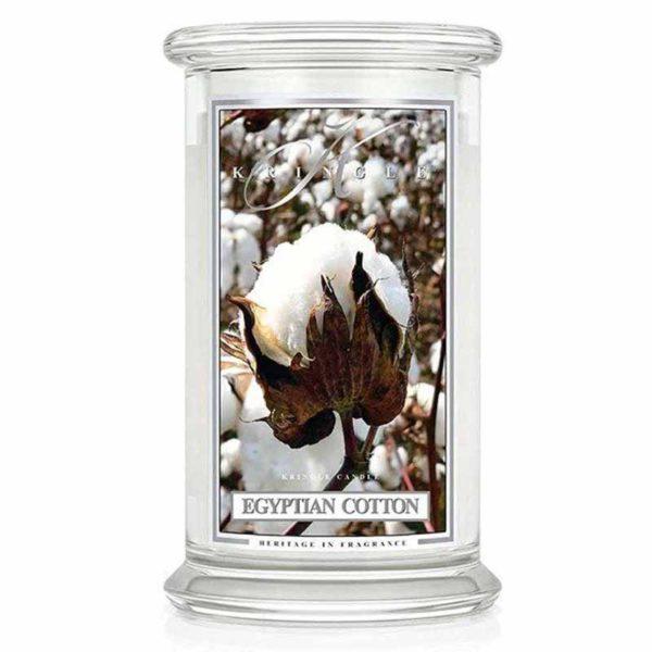 Świeca duża od Kringle Candle, prezent, świeca zapachowa, prezent, upominek, świeczki, zapachy, aromaty, bawełna, lekki zapach, prezent, dla każdego, pomysł na prezent, czystość