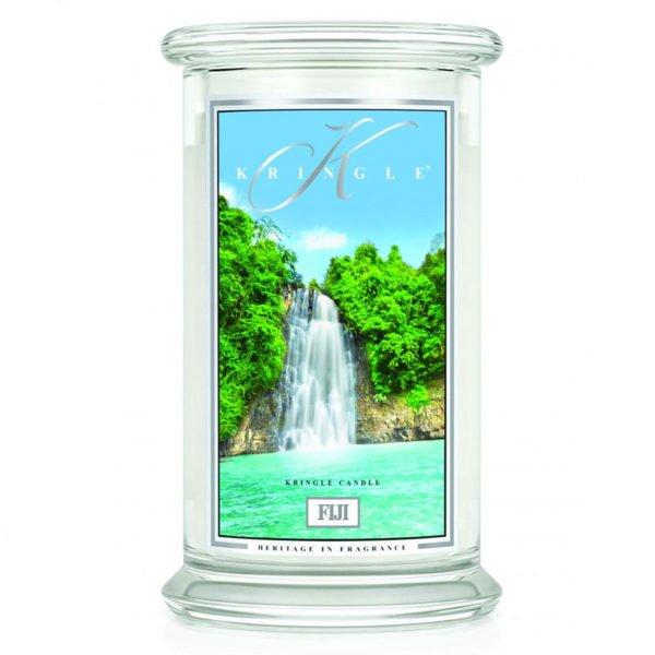Świeca duża od Kringle Candle, prezent, świeca zapachowa, prezent, upominek, świeczki, zapachy, aromaty, egzotyczne owoce, męski perfum, orzeźwiający, świeży, zapach dla pana, odpoczynek, relaks
