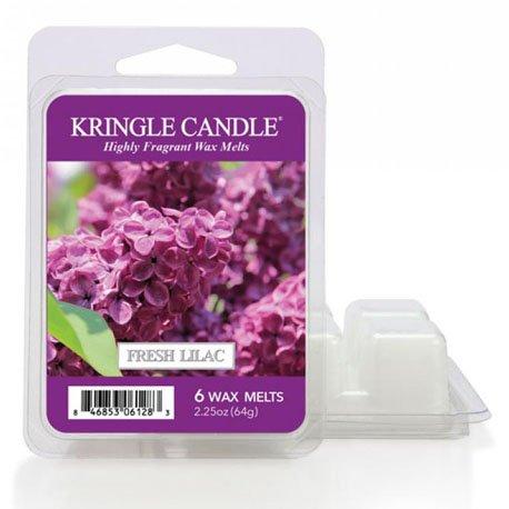 wosk od kringle candle, kwiaty, bukiet, lilie, liliowy, fiolet, , kringle, świeca zapachowa, relaks, odpoczynek, prezent, upominek,
