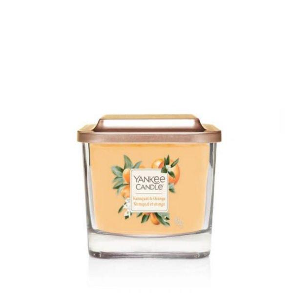 mała świeca sojowa od Yankee Candle, pomarańcze, świeże, słodkie, lato, wiosna, przyroda, prezent, upominek, wosk sojowy
