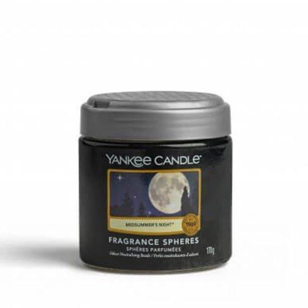 kuleczki żelowe od Yankee Candle, czarna w szklanym słoiku o zapachu Midsummer's night. Zapach, świeca zapachowa, męskie perfumy, perfumy, mężczyzna, świeca, zapach, prezent dla pana, prezent dla pani, prezent, paczuła, drzewo sandałowe, perfum, dom, łazienka