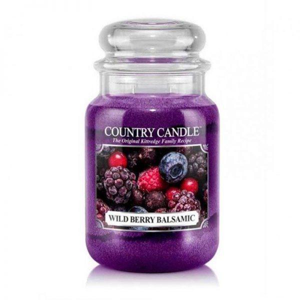 Duża świeca zapachowa Country Candle, duża świeca kringle candle, kringle, świeca zapachowa, relaks, odpoczynek, prezent, upominek, jeżyny, słodkie, konfitury