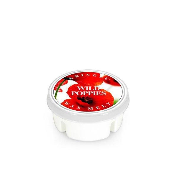 wosk zapachowy od Kringle Candle, prezent, świeca zapachowa, prezent, upominek, świeczki, zapachy, aromaty, mak, makowiec, czerwone, kwiaty, bukiet kwiatowy, lato, wiosna