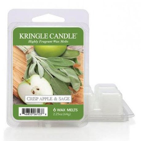 wosk od kringle candle, jabłko, cytrusy, zioła, zielone, , kringle, świeca zapachowa, relaks, odpoczynek, prezent, upominek,