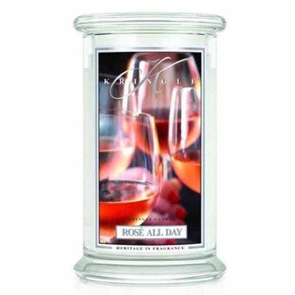 Świeca duża od Country Candle, prezent, świeca zapachowa, urokliwy zapach, wosk, wosk zapachowy, prezent, upominek, kringle candle, prosseco, wino, szampan, truskawki śmietana , relaks, odpoczynek. SPA, domowe Spa