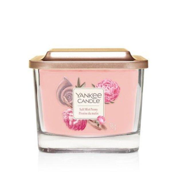 średnia świeca zapachowa sojowa od Yankee Candle, malina, sól morska, kwiat wiśni, lotos, piwonia. fiołek, drzewo cedrowe, piżmo, prezent, lato, wiosna, upominek