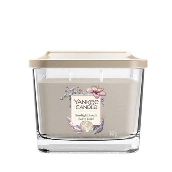 średnia świeca sojowa od Yankee Candle słoneczne kwiaty, nuty świeżego powietrza, tumberoza, jaśmin, Ylang Ylang, prezent, upominek