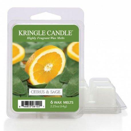 wosk od kringle candle, cytrusy, mięta, zioła, cytryna, , kringle, świeca zapachowa, relaks, odpoczynek, prezent, upominek,