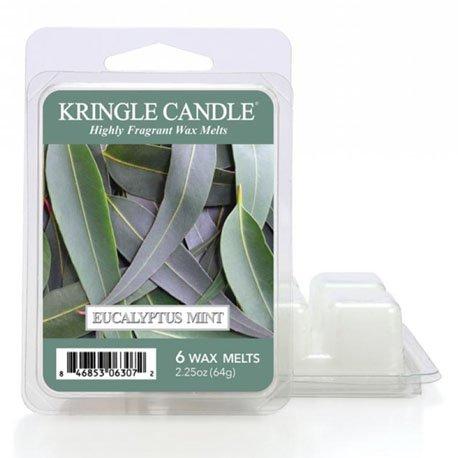 wosk od Kringel Candle, , kringle, świeca zapachowa, relaks, odpoczynek, prezent, upominek, świeże, eukaliptus, mięta,