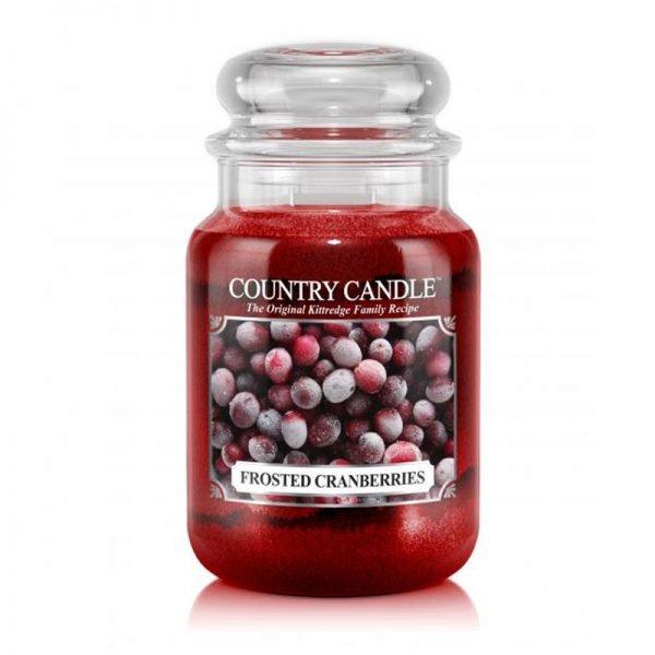 duża świeca zapachowa, kringle candle, kringle, świeca zapachowa, relaks, odpoczynek, prezent, upominek, czerwona, żurawina, świeże, słodkie