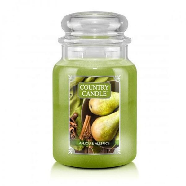 świeca duża, kringle candle, kringle, świeca zapachowa, relaks, odpoczynek, prezent, upominek, gruszka, przyprawy, wiosna, lato, zielone