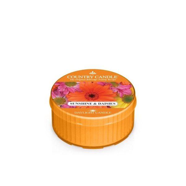 mini świeczka, kringle candle, kringle, świeca zapachowa, relaks, odpoczynek, prezent, upominek, kwiaty, stokrotki, słonecznik, lato, wiosna