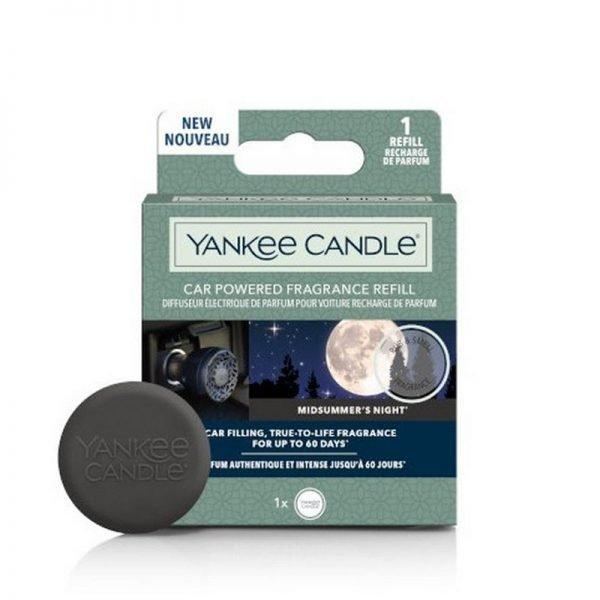 zapach do samochodu, uzupełniacz, Yankee Candle, prezent, upominek, czarne, męski perfum, perfumy